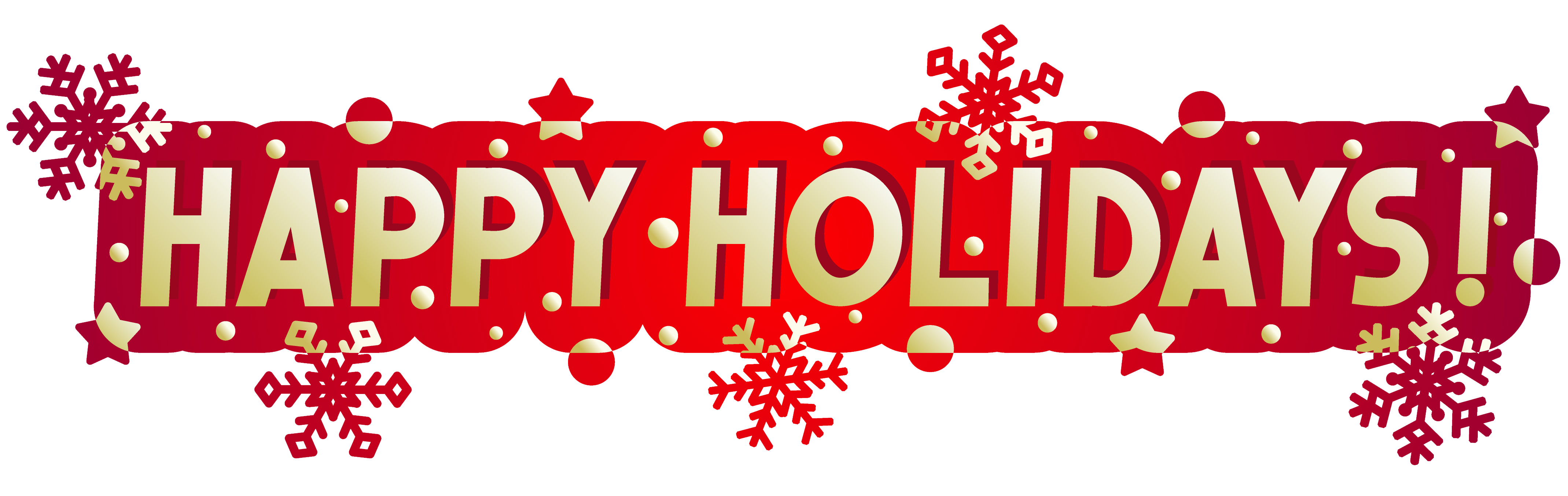 Holydays clipart transparent Holidays Advertisement Transparent All PNG