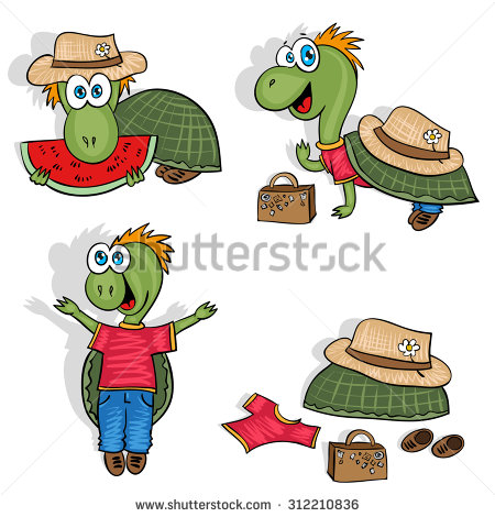 Holydays clipart turtle Set for holidays holidays for
