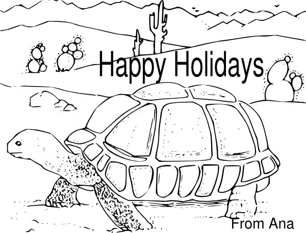 Holydays clipart turtle At as: Holidays  clip