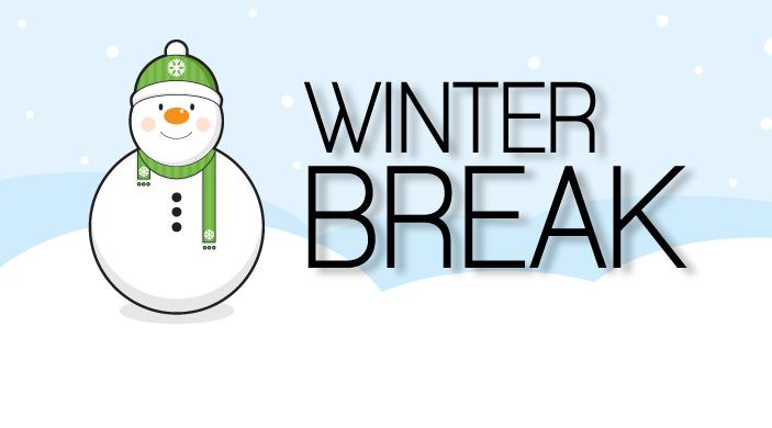 Winter clipart calendar Break break clipart Kids winter