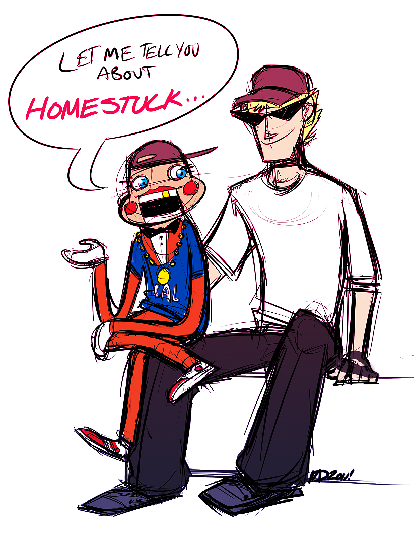 Homestuck clipart cal Lil Cal Bro:Be on by