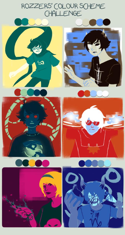 Homestuck clipart color Scheme on by Colour Challenge