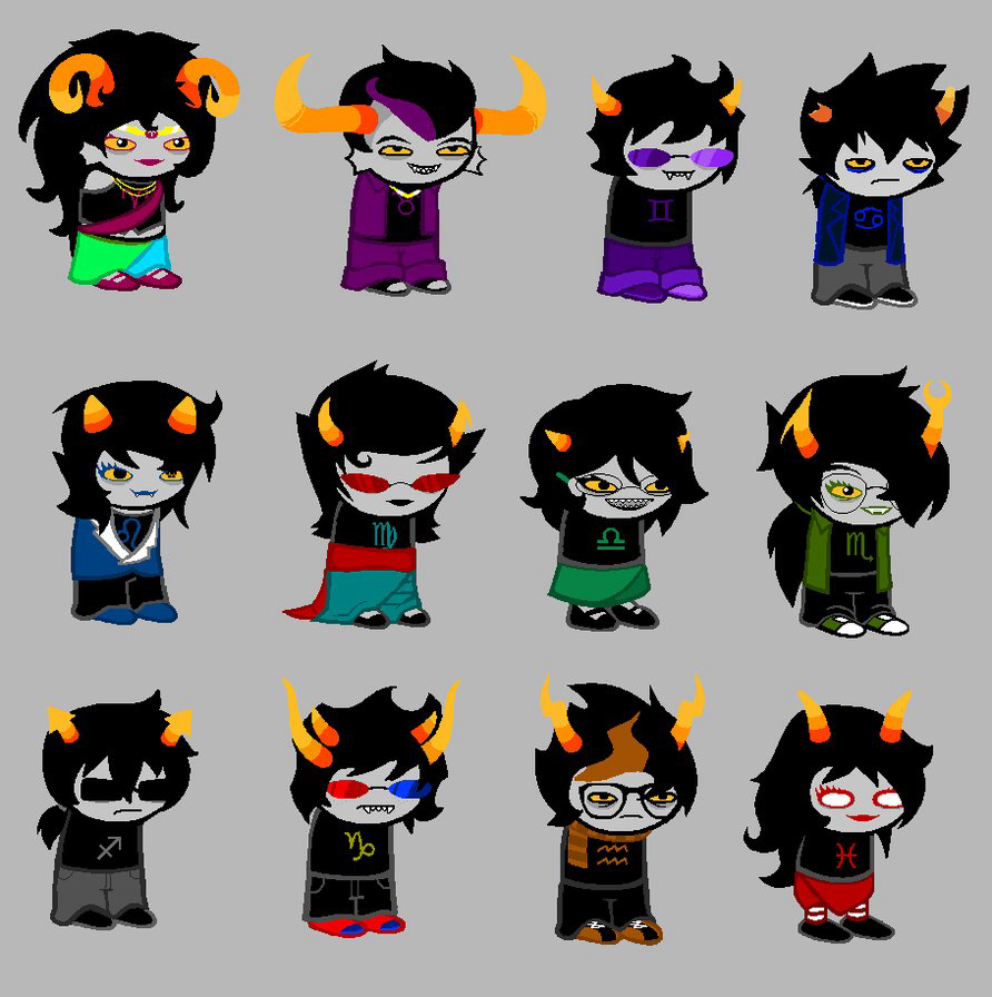 Homestuck clipart color ♑ go more Find Pin