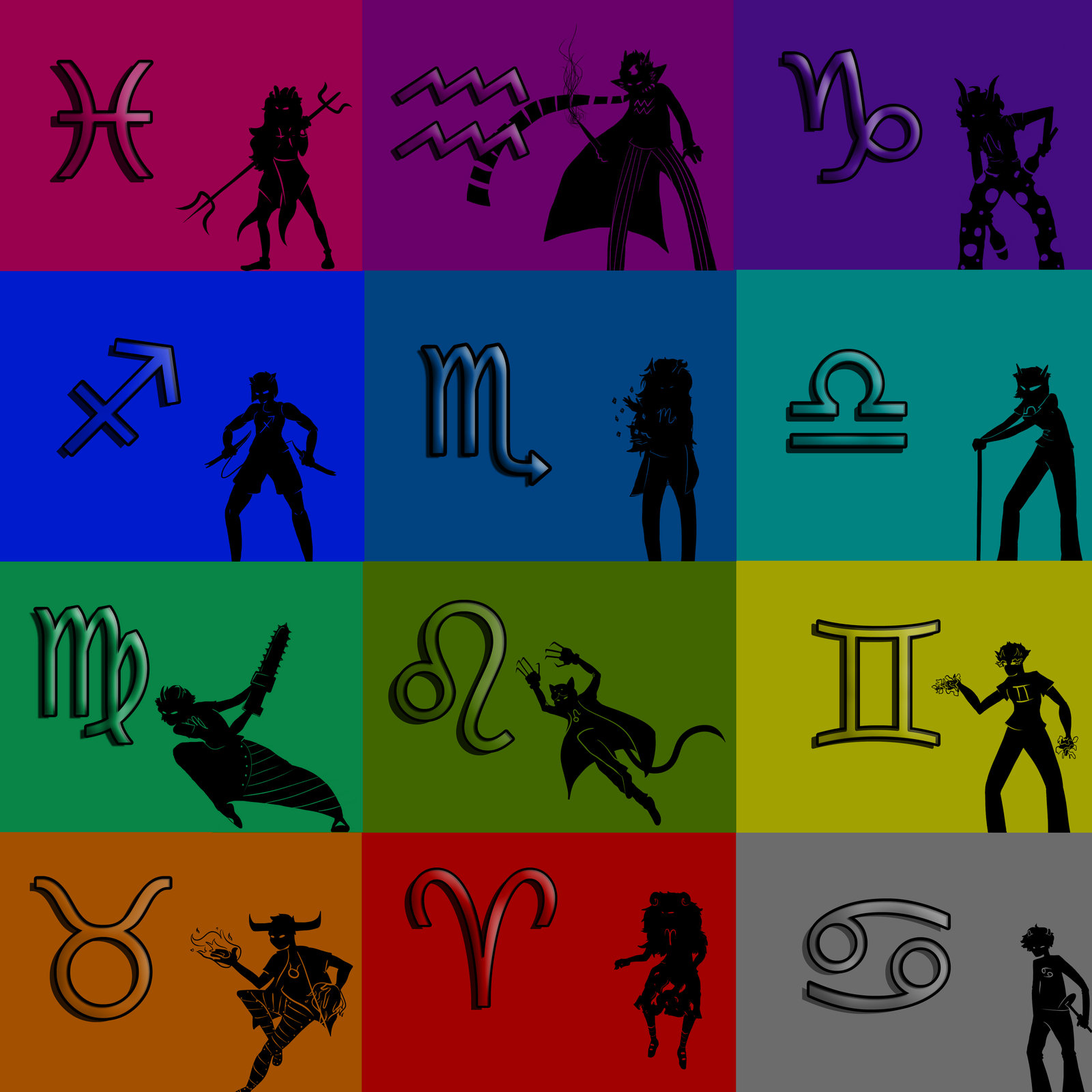 Homestuck clipart color By of order