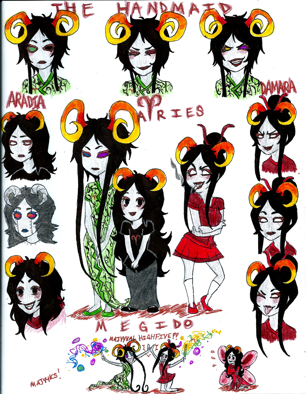 Cosplay clipart homestuck Homestuck Best +More Aries Homestuck