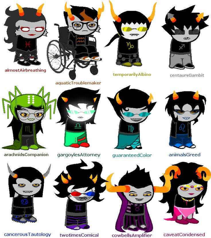 Zodiac clipart homestuck Pin best on 4999 and