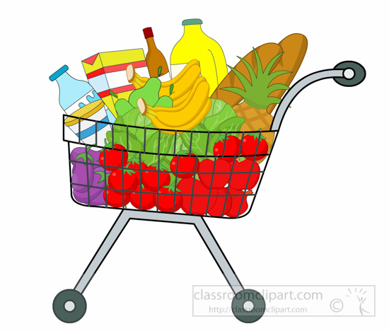 Vegetables clipart shopping basket Result School Homework for shopping