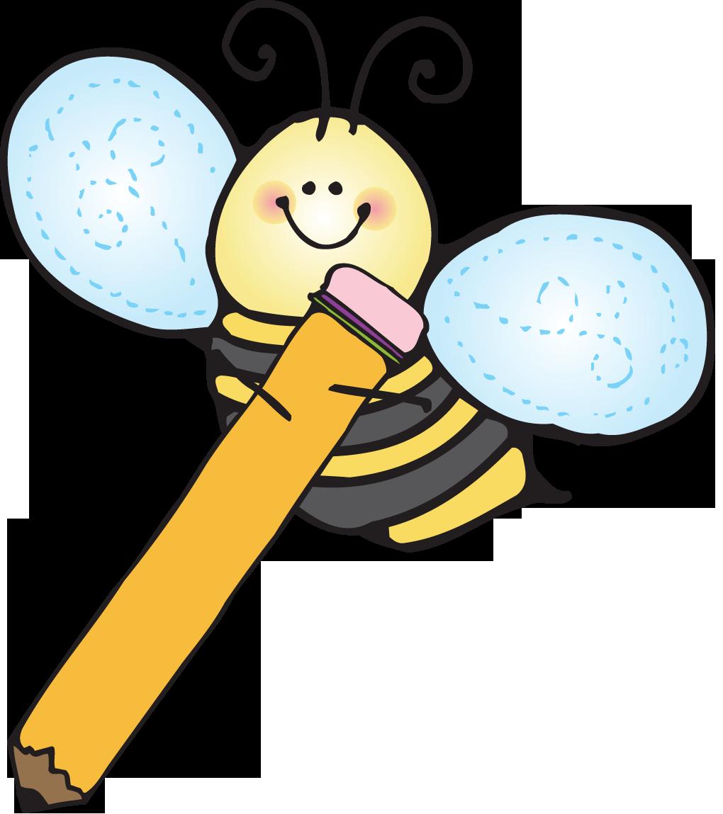 Bees clipart kindergarten Bees Writing clipart Clipartix clipart