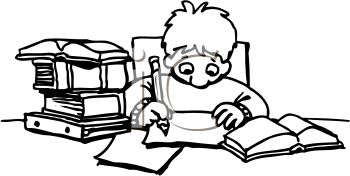 Homework clipart black and white And Panda Clipart children%20writing%20clipart%20black%20and%20white Images