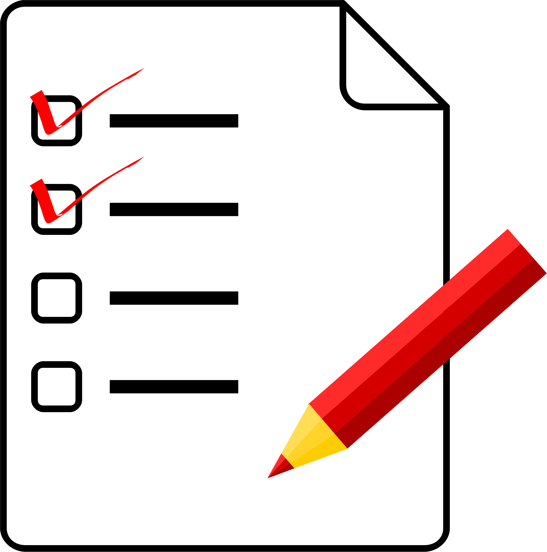 Overview clipart checklist Clip Clipart Checklists Free Clip