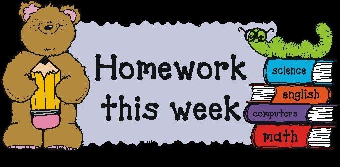 Homework clipart class schedule Website! Grade Picture Mrs 2
