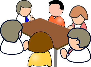 Meeting clipart role responsibility #15