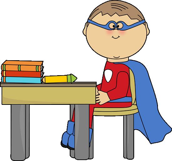 Boy clipart superhero School Kids Art Art Clip