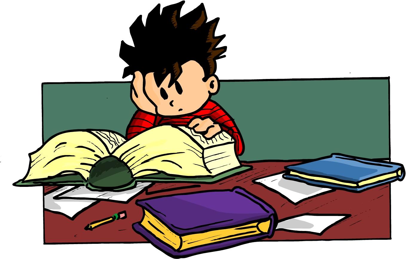 Homework clipart difficult #13