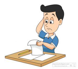 Homework clipart difficult #14