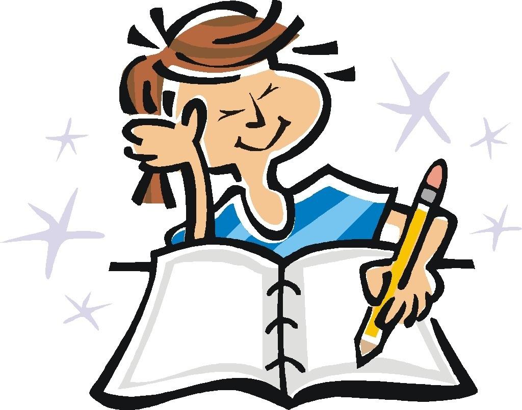 Homework clipart elementary student #13