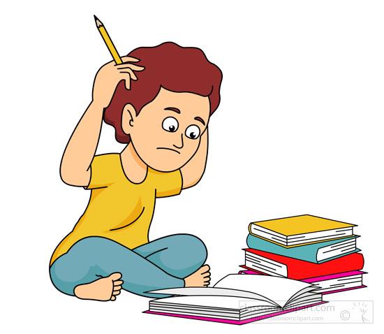 Homework clipart elementary student #3