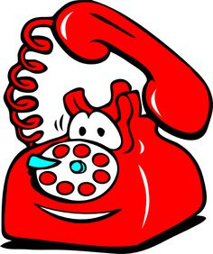 Telephone clipart funny Art White is Clip A