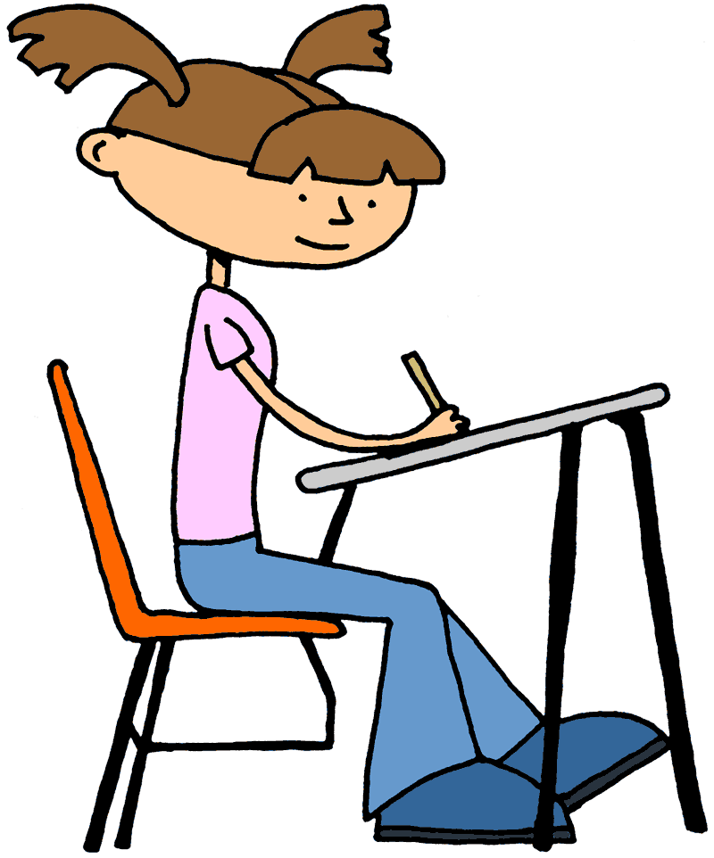 Moving clipart writing Art Free Clip  Student