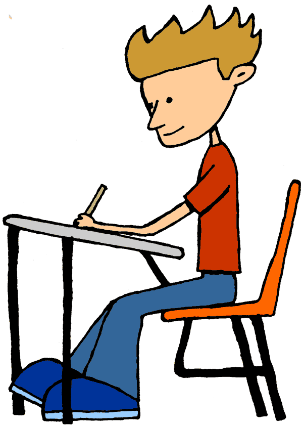 Desk clipart student learning Worker Clip Becuo Art Clip