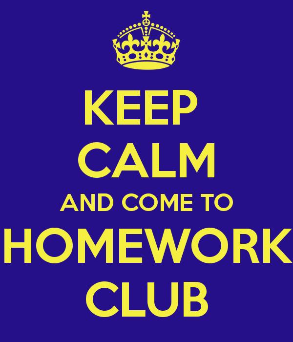Homework clipart homework club VT and from Thursday Club