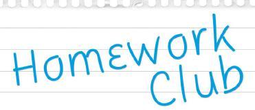 Homework clipart homework club Rush Ben NOTE: CLUB HOMEWORK