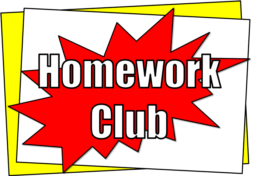 Homework clipart homework club Pant Homework School Y Club