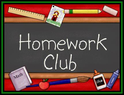 Homework clipart homework club Club Club Information Flynn Homework