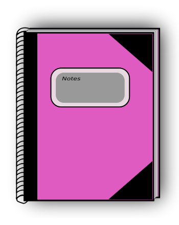 Bobook clipart pink Collection Journal free Homework diary