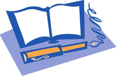 Reflection clipart pen book Savoronmorehead Diary clip art Diary