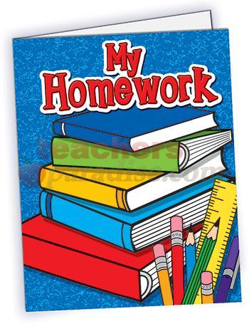 Library clipart homework folder Download Homework Homework Folder Clipart