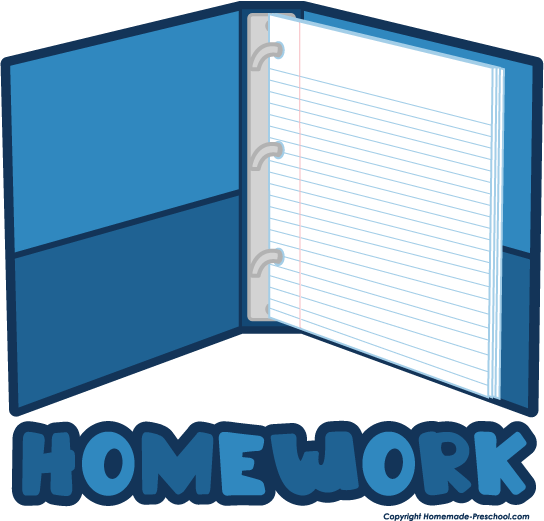 Library clipart homework folder Art Homework homework Pictures Clipart