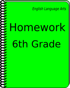 Notebook clipart homework paper Clip vector Notebook com art