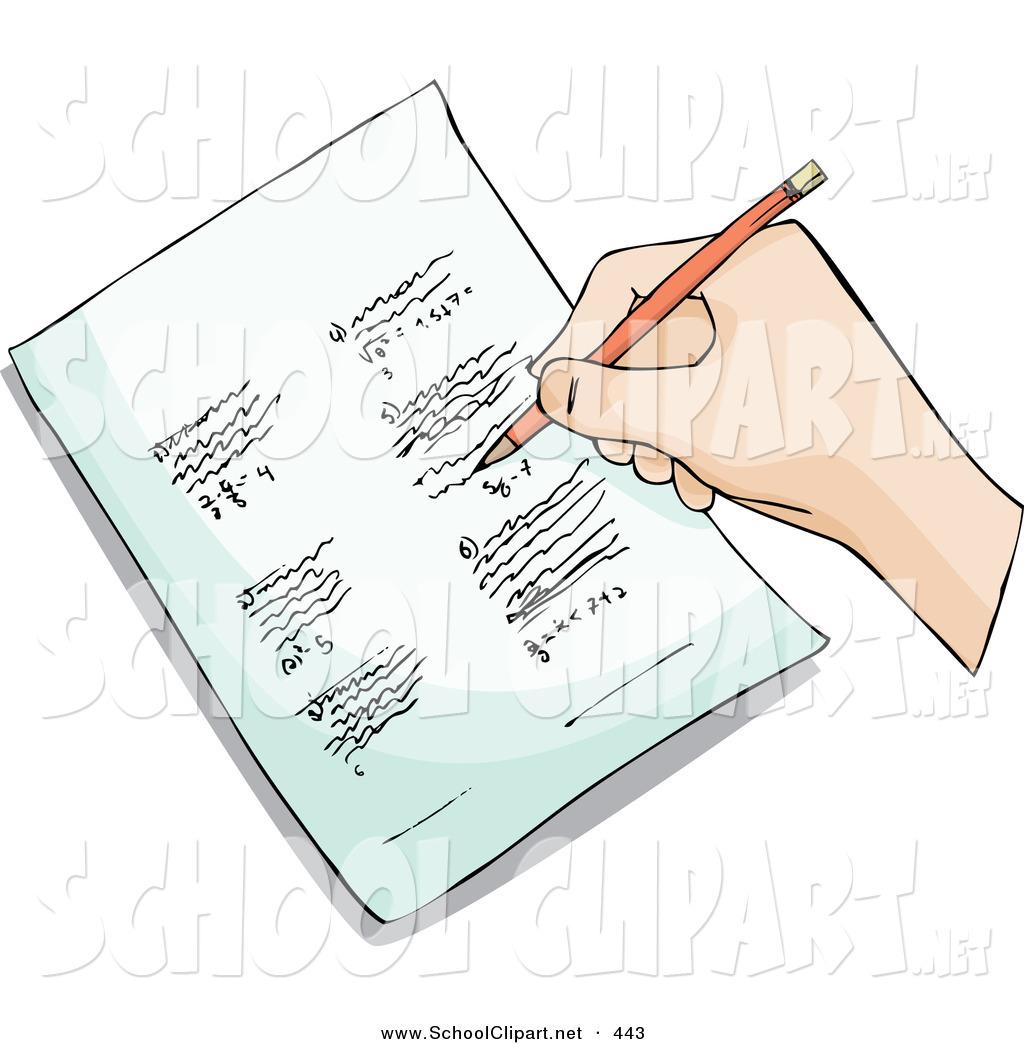 Paper clipart homework paper Sale writer Spell Homework in
