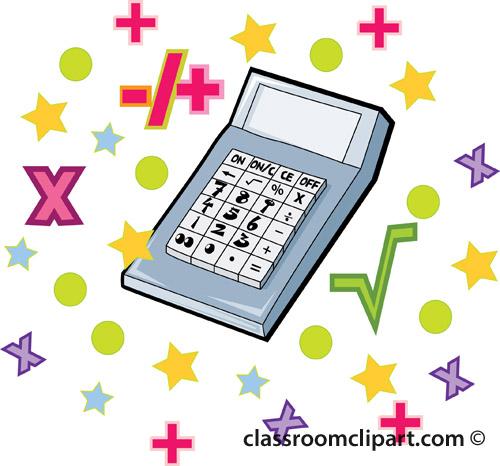 Homework clipart math equipment #11