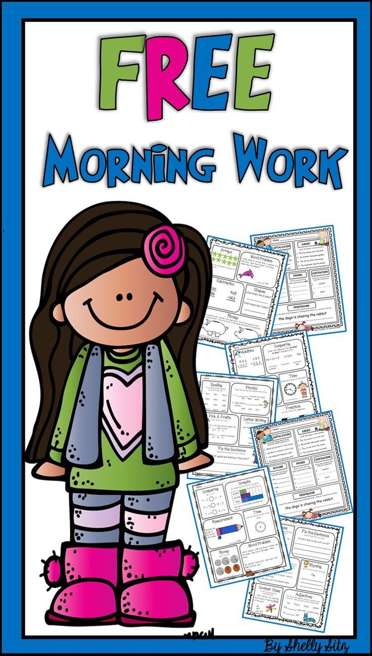 Breakfast clipart morning work Work ideas 20+ work on