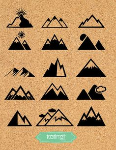 Homework clipart mountain A and mix Mountain ID#CL6