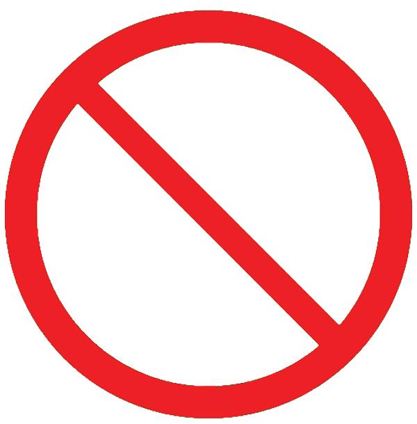 No Smoking clipart circle Free Clip Free Clipart on