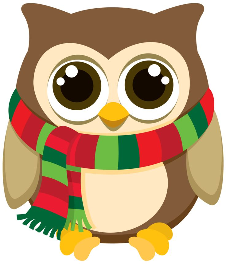 Owl clipart merry christmas Art Christmas Owls Owl 25+