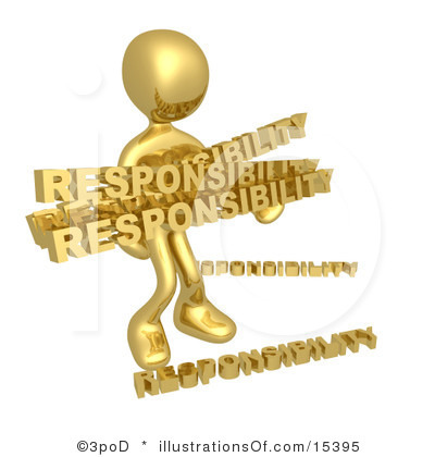 Overview clipart responsible #7