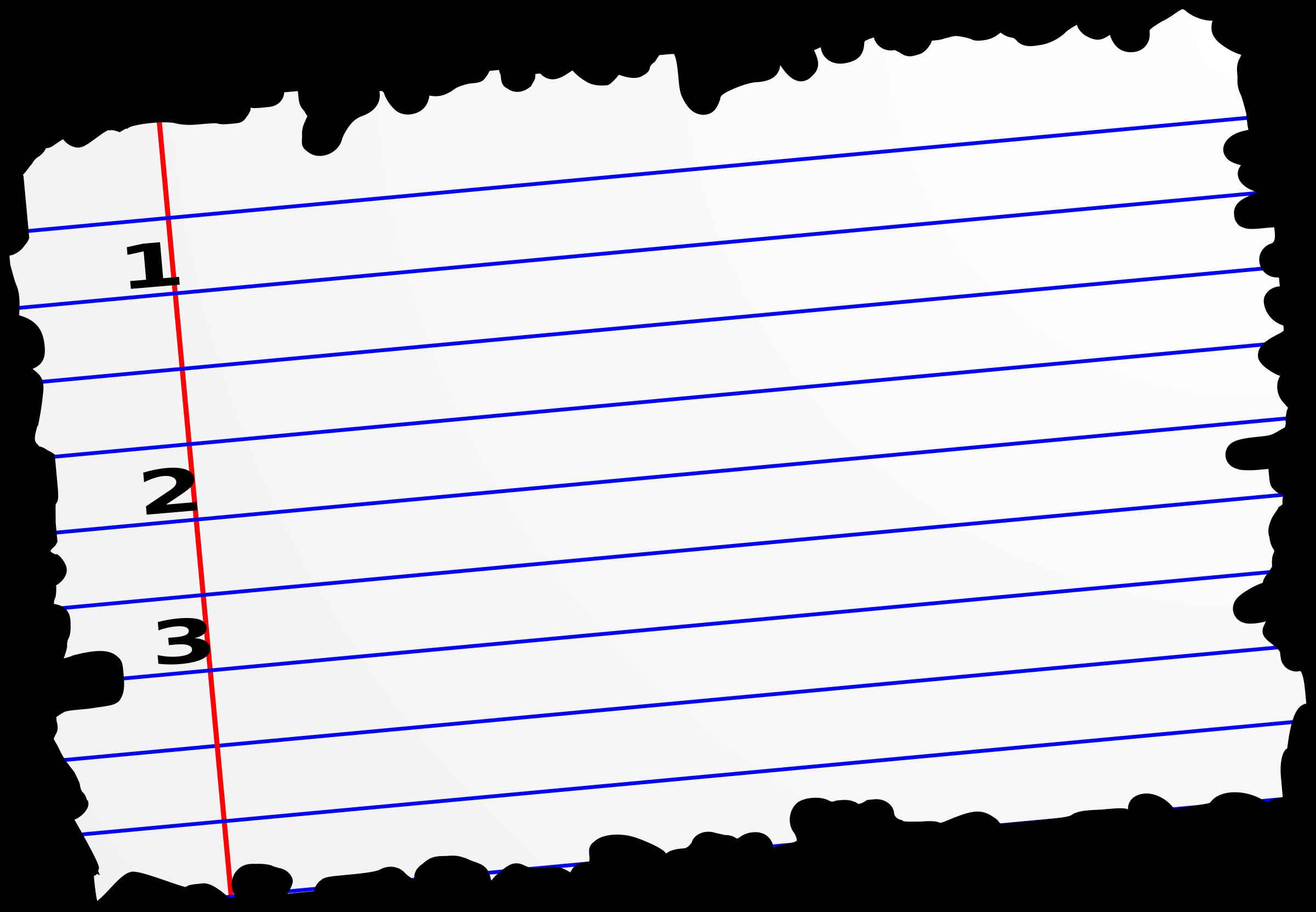Paper clipart torn paper #18043 com Paper Clipart Clipart