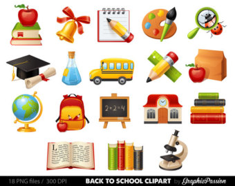 Mauve clipart school bus Clipart supplies clipart stationary to
