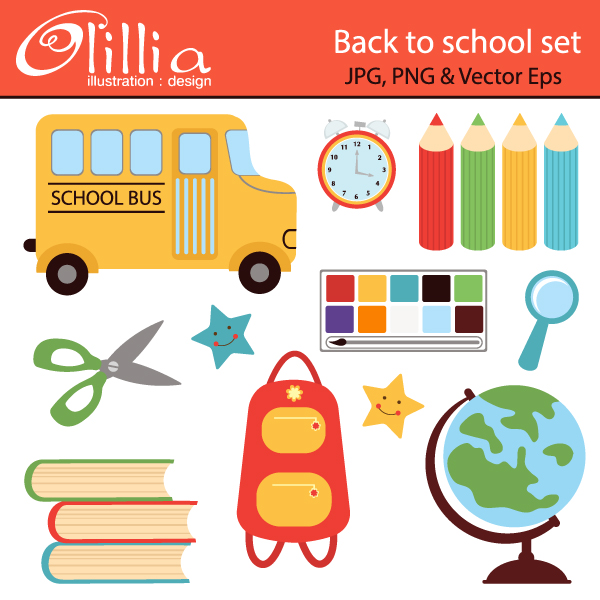 Homework clipart school stationery Clipart stationery More includes art