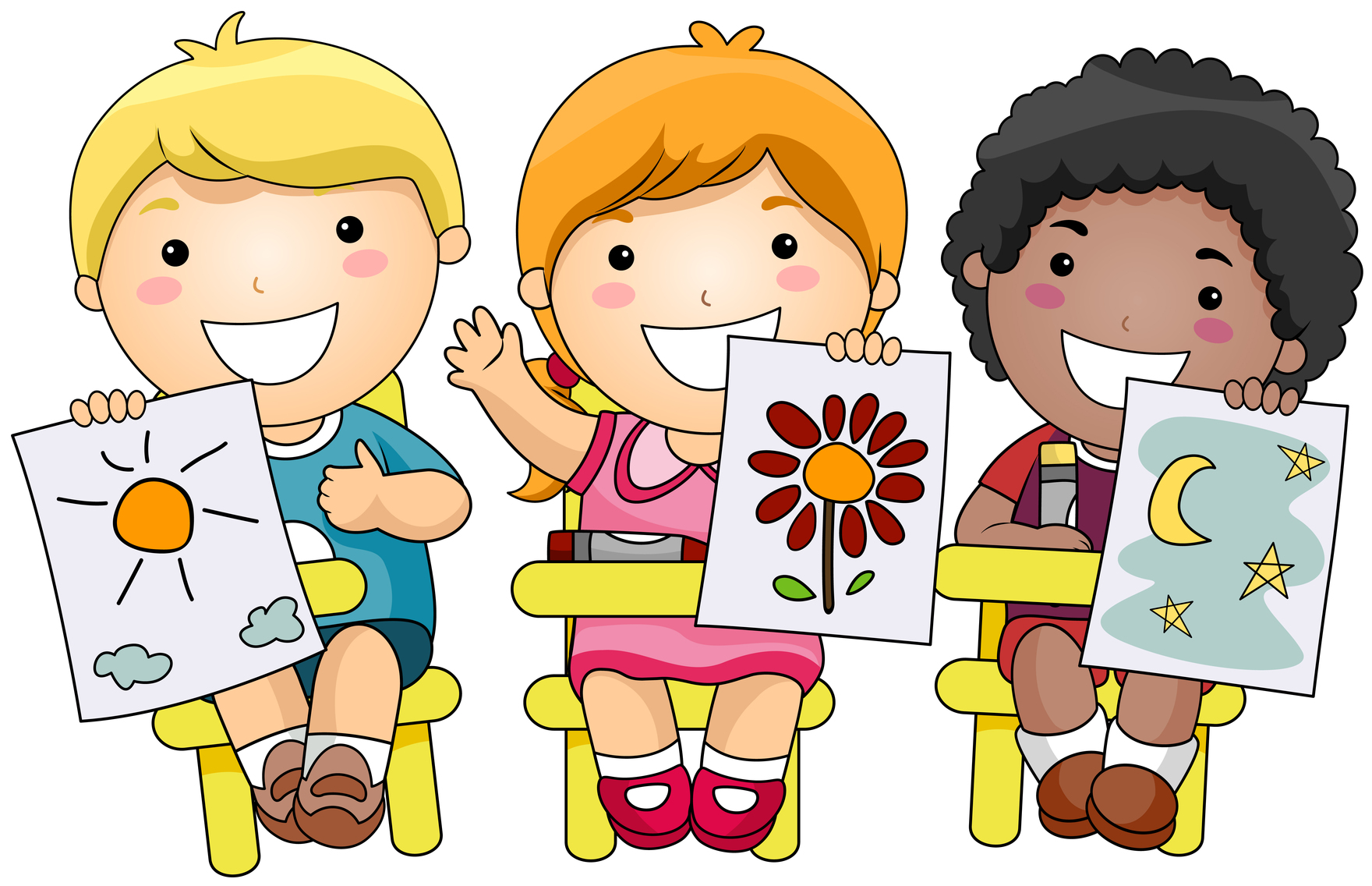Reflection clipart kid question Coloring Homework Cliparts Work For