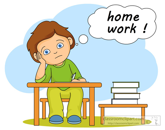 Professional clipart result discussion School work Clipart collection homework