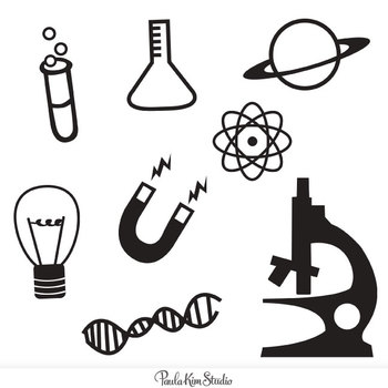 Scientist clipart icon #1