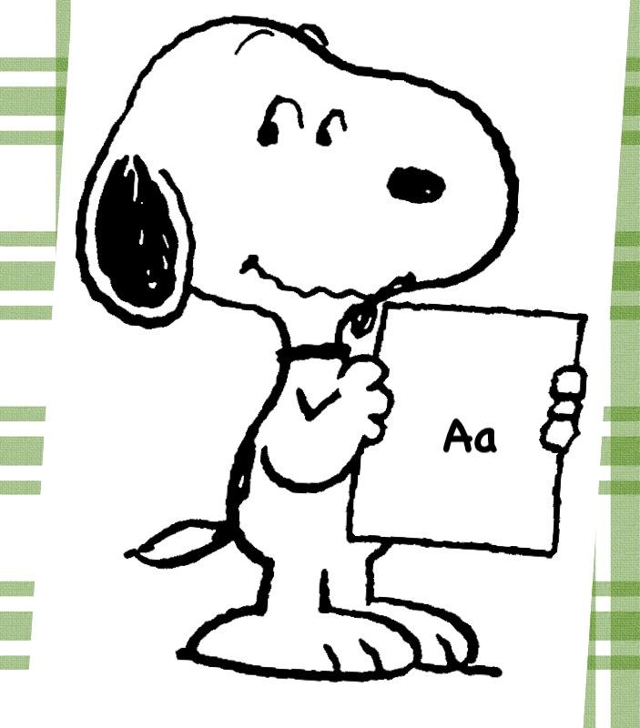 Snoopy clipart sorry Alphabet Snoopy Cute Door! for