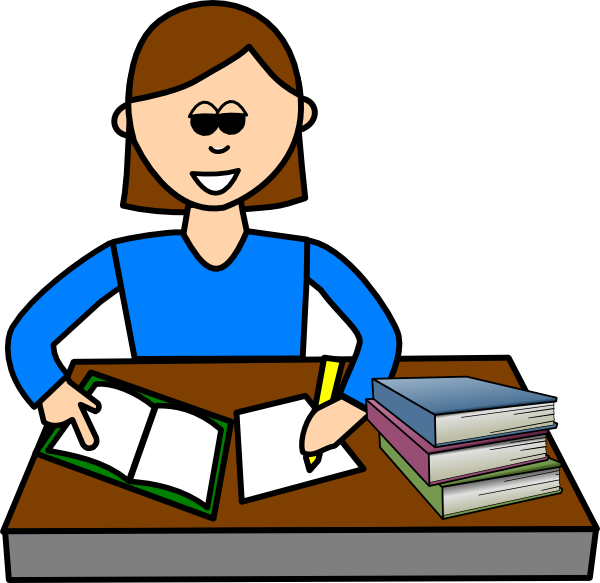 Homework clipart student work Home Animated clipart work collection
