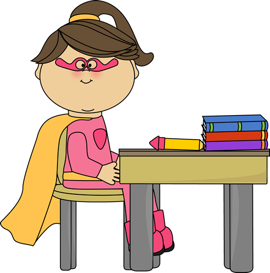 Pencil clipart superhero Superhero Girl Art Art at