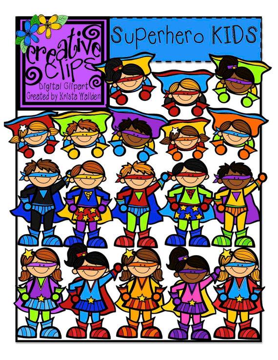 Homework clipart superhero Hero  super Art Clip